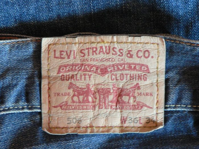 2. Blue Jeans (Levi's) were invented by Reno-based tailor Jacob Davis.