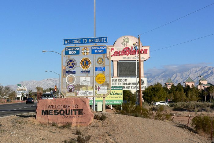 Mesquite is located within the Virgin River Valley, approximately 80 miles from Las Vegas. This resort town offers its visitors a variety of attractions in a small-town environment.
