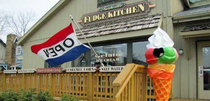 10. Nashville Fudge Kitchen
