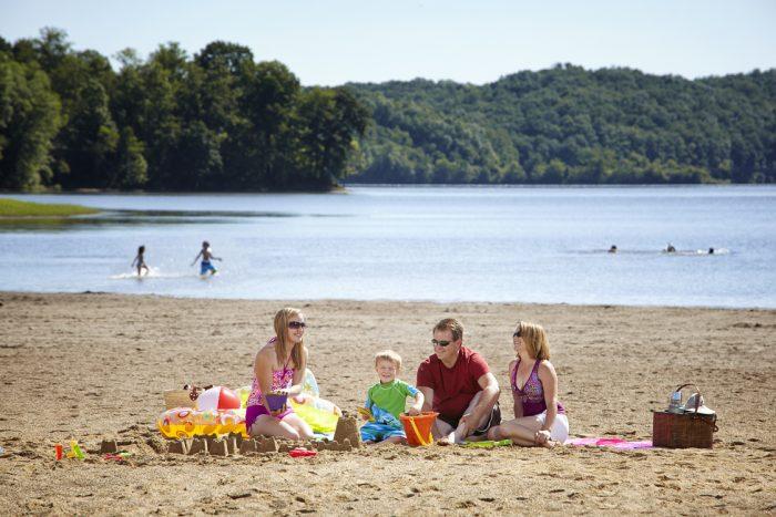 11 Little Known, Hidden Beaches In Ohio
