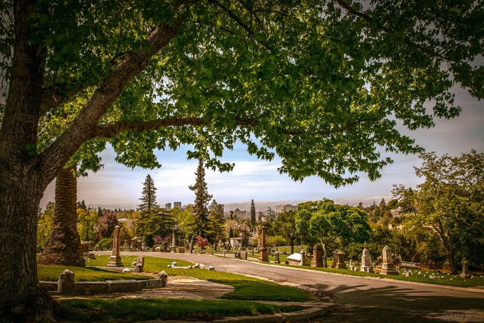 7. Mountain View Cemetery in Oakland