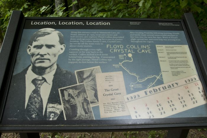Visit the old guides cemetery and Floyd Collins memorial.