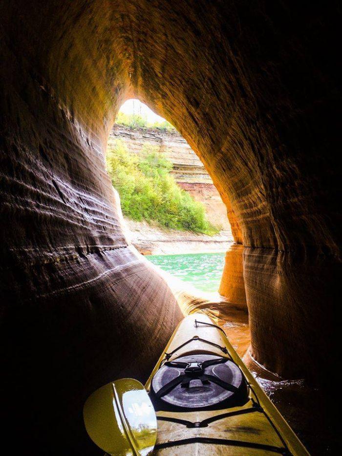 7. Paddling Michigan, Pictured Rocks National Lakeshore