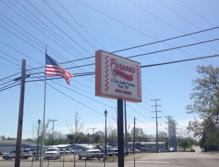 3. Parsons Dairy Bar - Parsons
