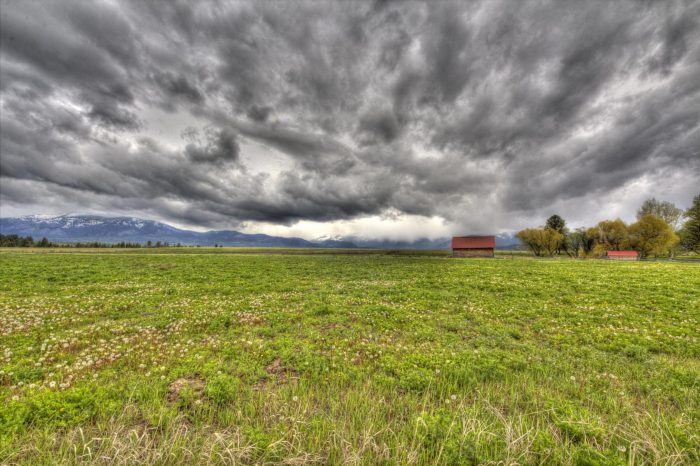 12. Montana, you make us happy even when skies are gray.