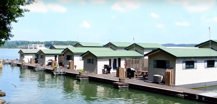 1. Patoka Lake Floating Cabins - Birdseye