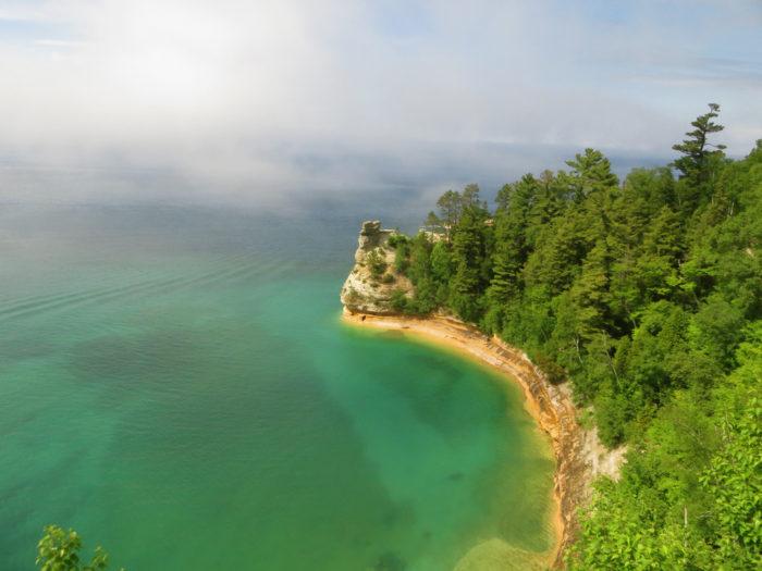 5. Pictured Rocks Lakeshore