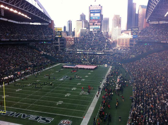 1. Seahawks games in Seattle