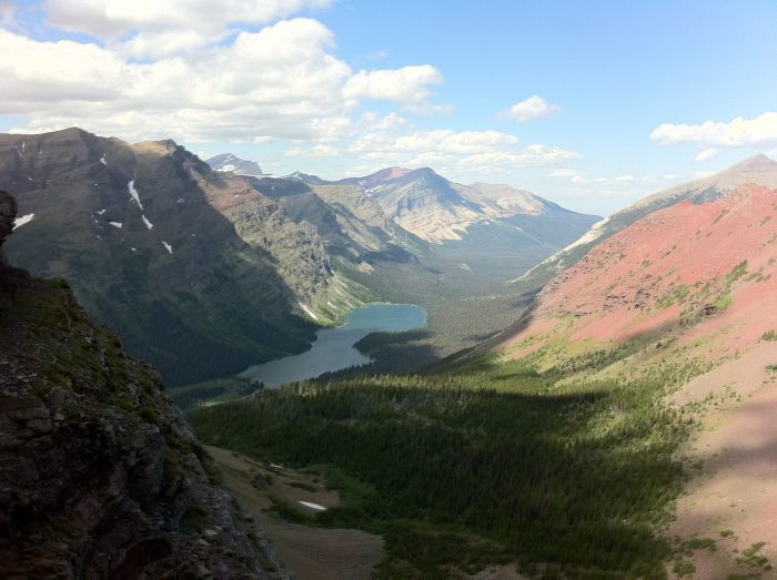 3. What a view from the north end of the Ptarmigan Tunnel at Glacier.