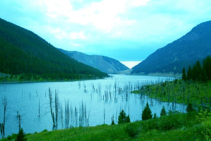 3. Earthquake Lake