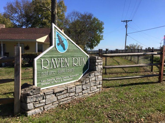 10. Raven Run Nature Sanctuary.