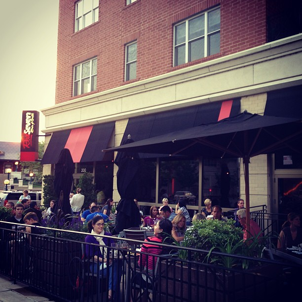 9. Red Seven Bar & Grill - Lafayette