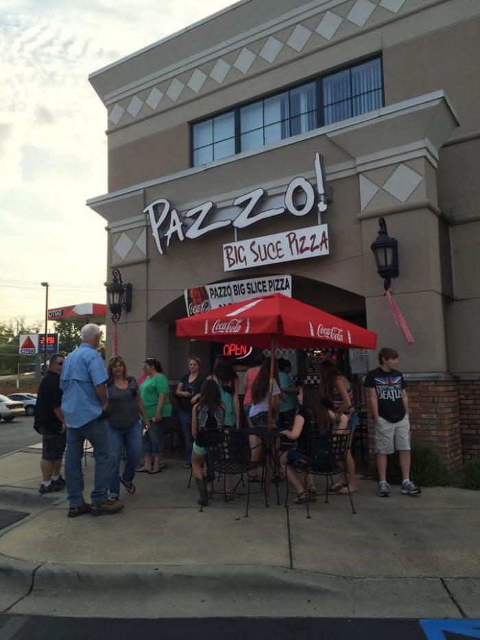 1. Pazzo! Big Slice Pizza & Calzone Bakery - Hoover