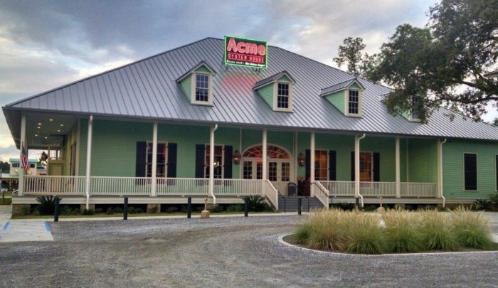 3. Acme Oyster House - Gulf Shores