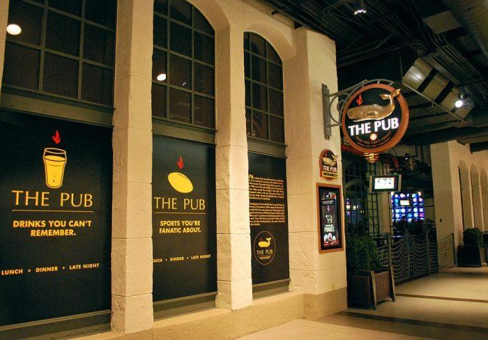 7. The Pub at Monte Carlo - Las Vegas