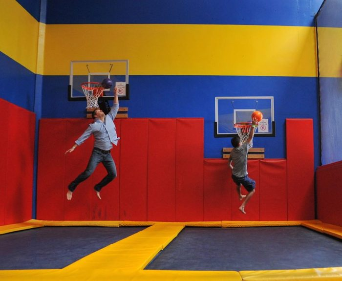 2. Revisit your childhood and bounce it out!