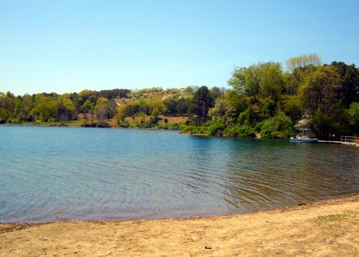 8. Round Valley Reservoir