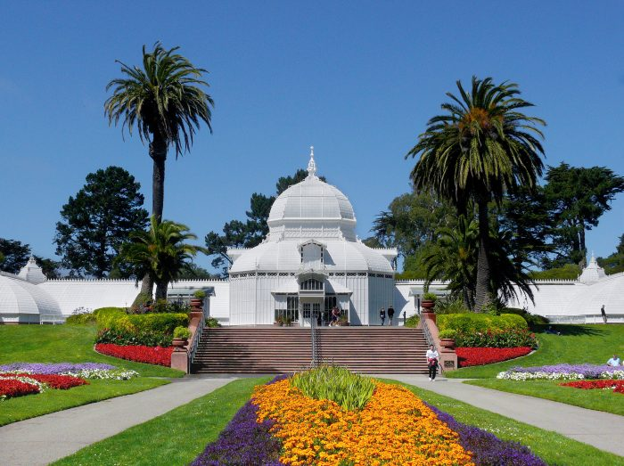 8. Conservatory of Flowers