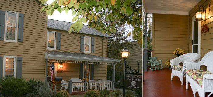 8. Scott Station Inn at 305 E Main Street in Wilmore
