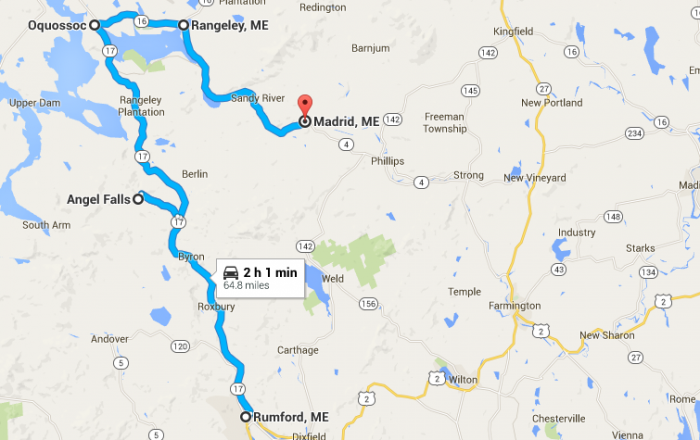 4. Rangeley Lakes National Scenic Byway