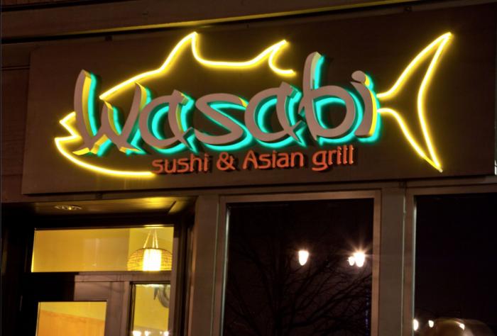 6. Japanese: Wasabi Sushi & Asian Grill - Fargo