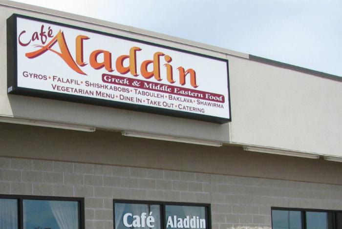 2. Greek: Cafe Aladdin - Fargo