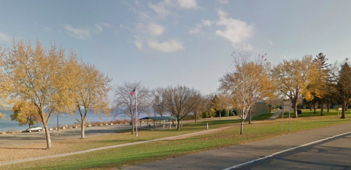 5. Raschen Park has stunning views of Lake Pepin and is a perfect place to relax and enjoy an afternoon.