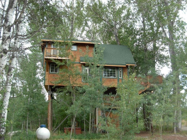 3. You'll also find the Birds Nest, a two story treehouse, in Four Corners.