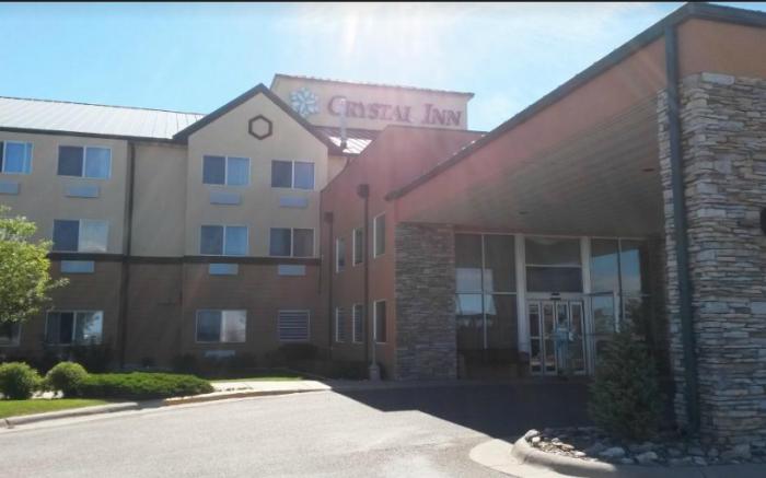 3.  Crystal Inn Hotel & Suites in Great Falls.