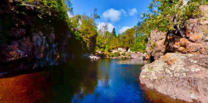 1. The Mouth of the Temperance River, Tettegouche State Park