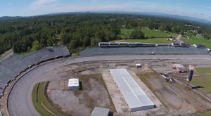 What This Drone Footage Captured At This Abandoned North Carolina Speedway Is Truly Grim