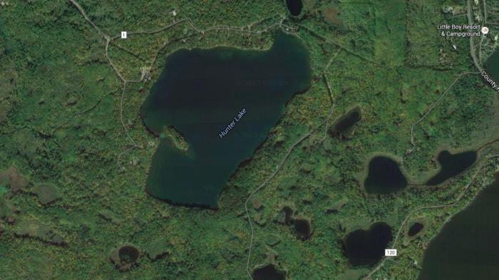 9. Hunter Lake, Cass County - ID 11017000
