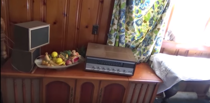 This house is like a time capsule from another era.