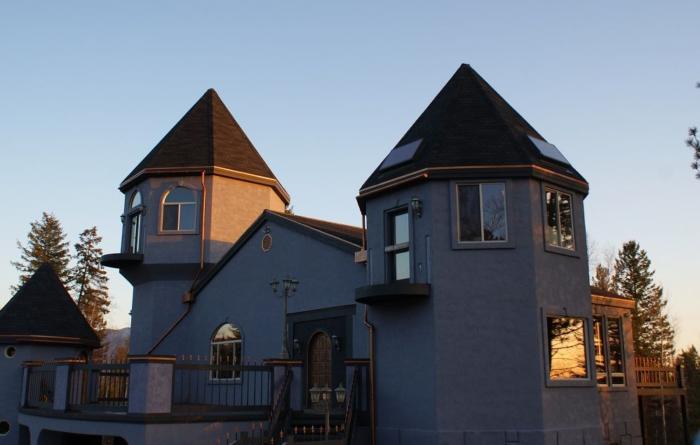 5. A true castle, Columbia Falls.
