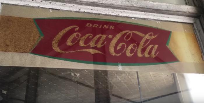 The vintage signs deliver a huge dose of nostalgia.