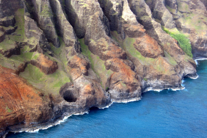 You can even witness this incredible cave from the air, but seeing it by boat is much more magical.