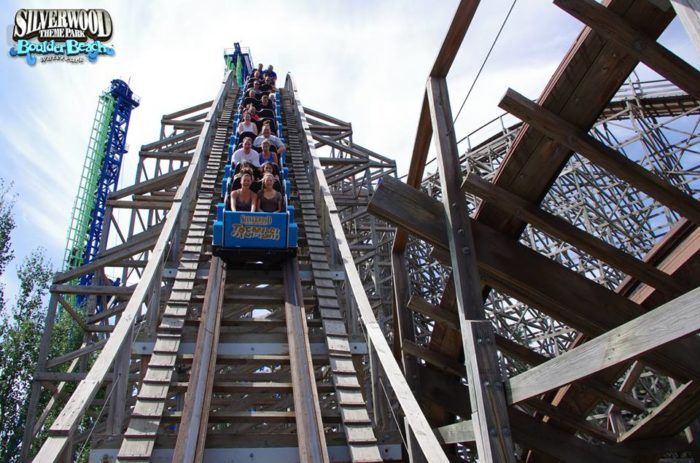 14. Enjoy a fun-filled few hours at Silverwood Theme Park in Coeur d'Alene.