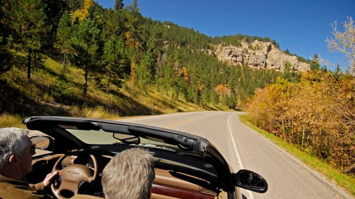 3. Spearfish Canyon Scenic Byway
