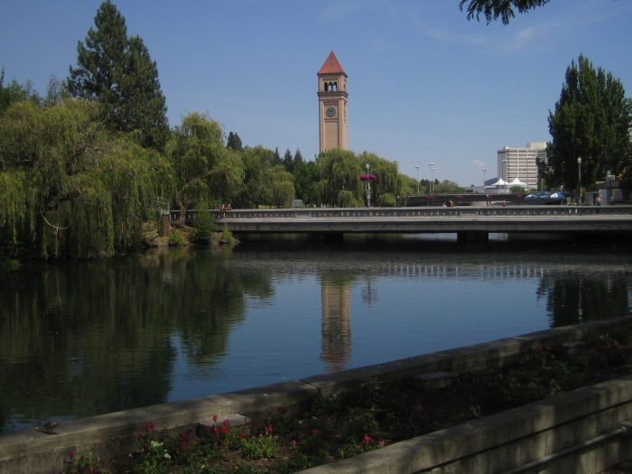 A day in downtown Spokane's park