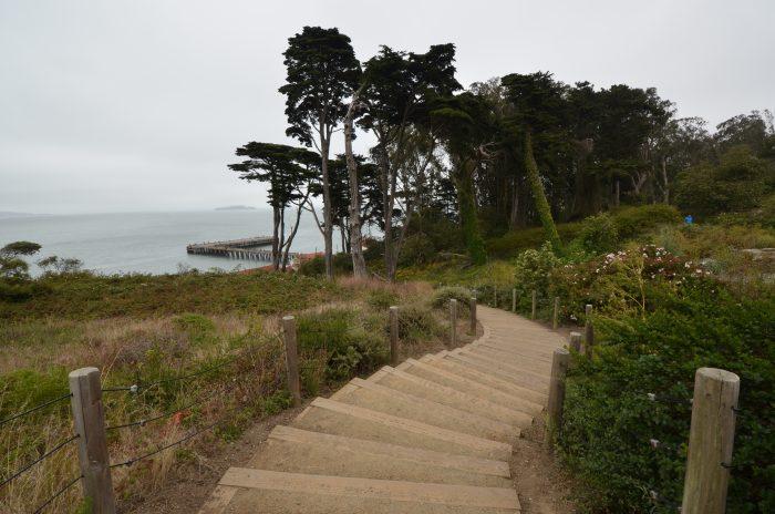 12. Battery East Trail Steps
