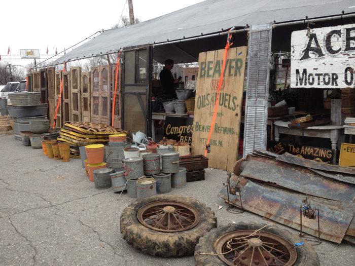 2. Take a Saturday for the Nashville Flea Market