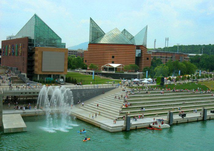 14. Tennessee: Tennessee Aquarium