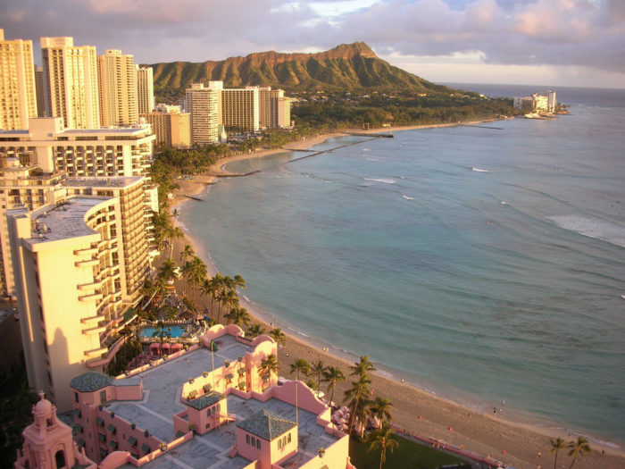 14. And, finally, Waikiki is home to stunning views of Diamond Head that will always keep you coming back for more - even if you hate the crowds.