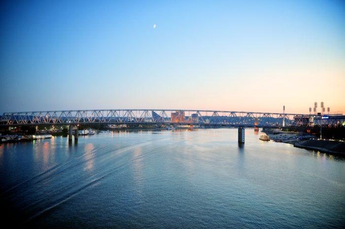 11. The Southbank Bridge In Newport