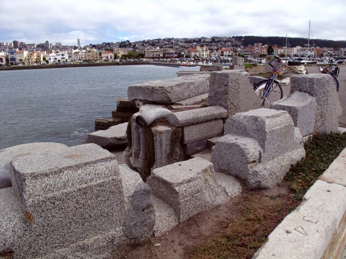 5. Unclaimed tombstones at Buena Vista Park and along the Marina