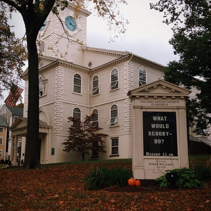 8. The First Baptist Meeting House, Providence