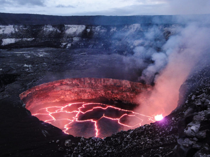 2. This Kilauea lava lake is the stuff nightmares are made of…