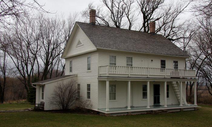 2. Thorstein Veblen Farmhouse