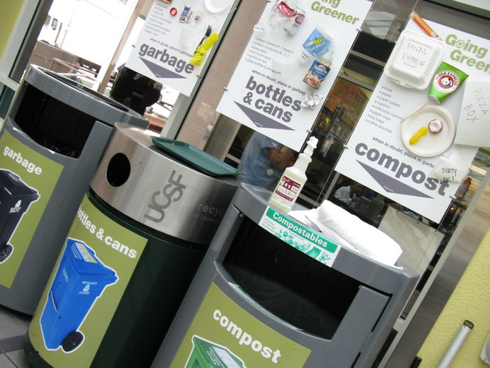 1. We are on our way to becoming a zero waste city. In fact, every citizen is required to sort your trash, recycling, and compost. Sure, it can get confusing sometimes, but we don't mind.
