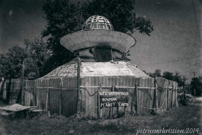 1. UFO Welcome Center - Bowman, SC